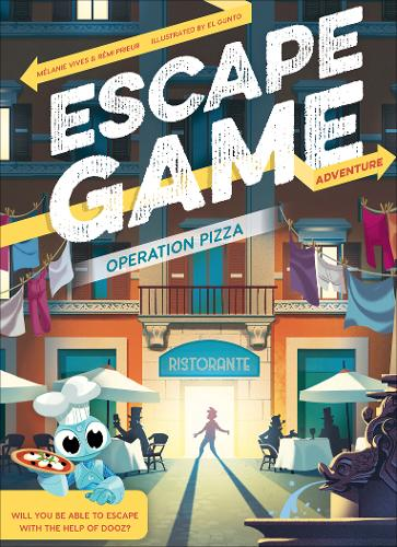 Escape Game Adventure: Operation Pizza (Paperback)