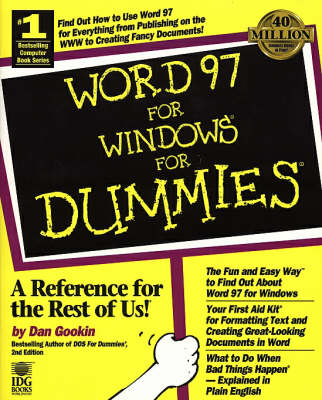 Word 97 for Windows For Dummies (Paperback)