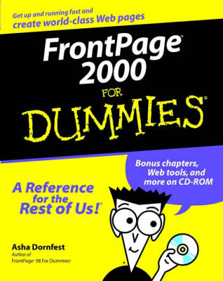 FrontPage 2000 For Dummies (Paperback)