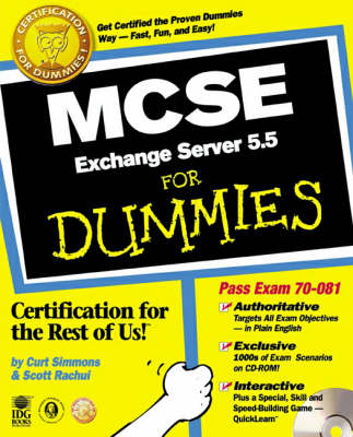 MCSE.Exchange Server 5.5 For Dummies (Paperback)