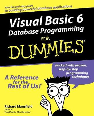 Visual Basic 6 Database Programming For Dummies (Paperback)