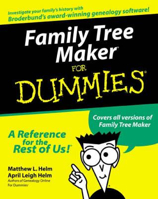 Family Tree Maker For Dummies (Paperback)