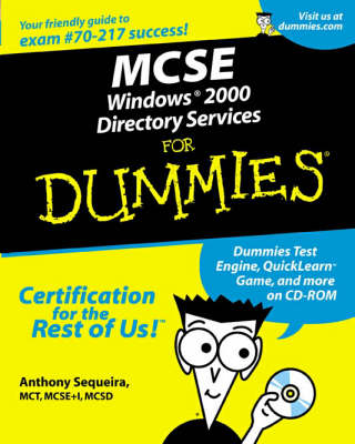 MCSE Windows 2000 Directory Services For Dummies (Paperback)