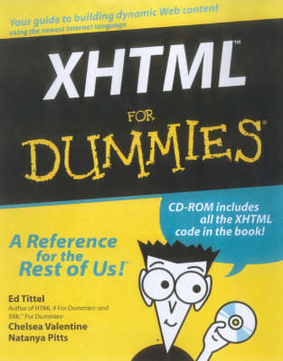XHTML For Dummies (Paperback)