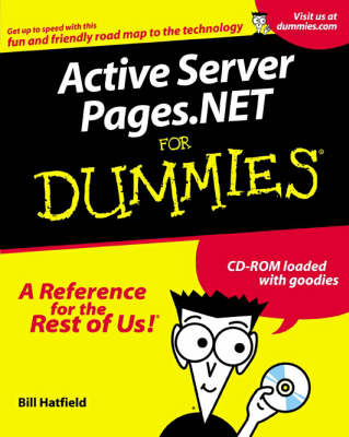 Active Server Pages. Net For Dummies (Paperback)