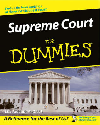 Supreme Court For Dummies (Paperback)