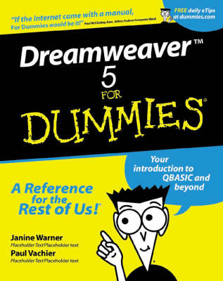 Dreamweaver MX For Dummies (Paperback)