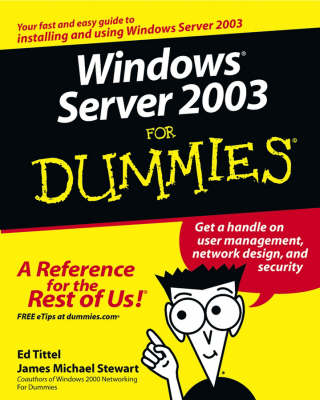 Windows Server 2003 For Dummies (Paperback)
