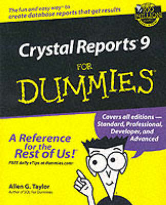 Crystal Reports 9 For Dummies (Paperback)