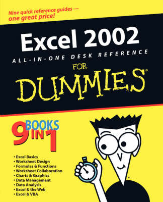 Excel 2002 All-in-one Desk Reference for Dummies (Paperback)