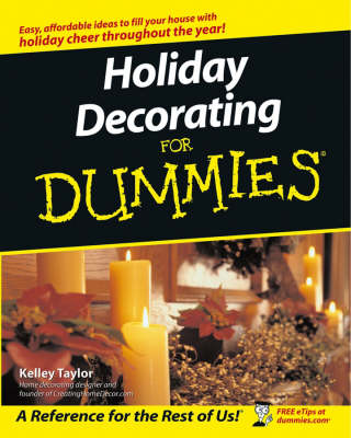 Holiday Decorating For Dummies (Paperback)