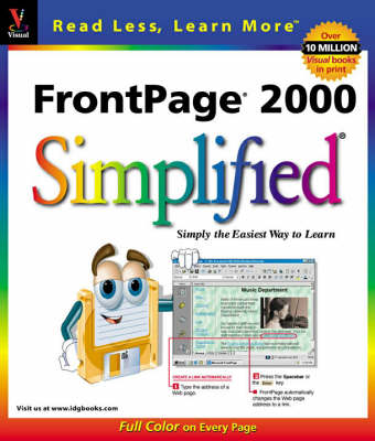 FrontPage 2000 Simplified - IDG's 3-D visual series (Paperback)