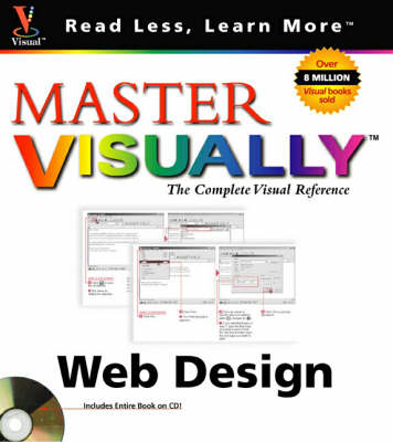 Master Visually Web Design - Read less - learn more (Paperback)