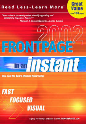 FrontPage 2002 in an Instant - In an Instant (Paperback)
