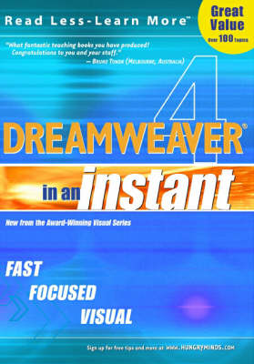 Dreamweaver 4 in an Instant - In an Instant (Paperback)