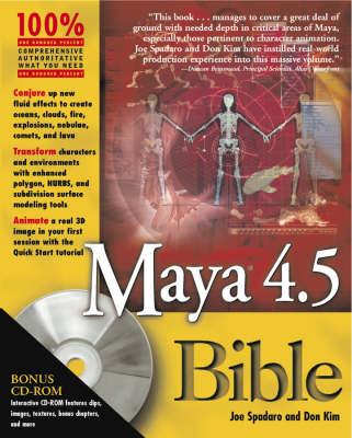 Maya 4.5 Bible (Paperback)