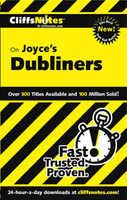 CliffsNotes on Joyce's Dubliners (Paperback)