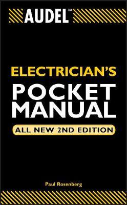 Audel Electrician's Pocket Manual - Audel Technical Trades Series (Paperback)