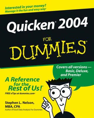 Quicken 2004 For Dummies (Paperback)