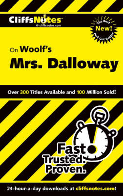 """CliffsNotes on Woolf's """"Mrs. Dalloway"""" (Paperback)"""