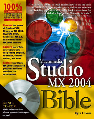 Macromedia Studio MX 2004 Bible - Bible (Wiley)