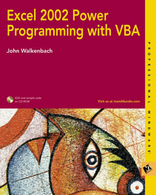 Excel 2002 Power Programming with VBA (Paperback)