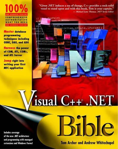 Visual C++.NET Bible - Bible
