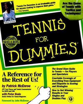 Tennis For Dummies (Paperback)