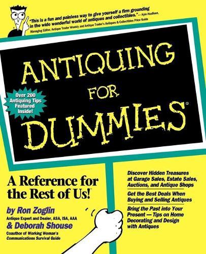Antiquing For Dummies (Paperback)