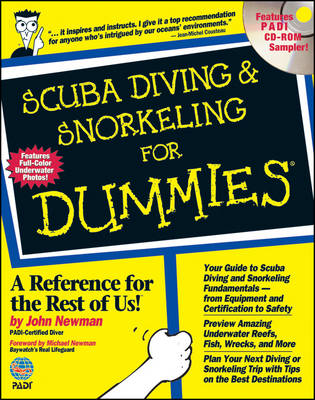 Scuba Diving and Snorkeling For Dummies (Paperback)