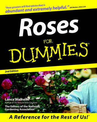 Roses for Dummies - --For dummies (Paperback)