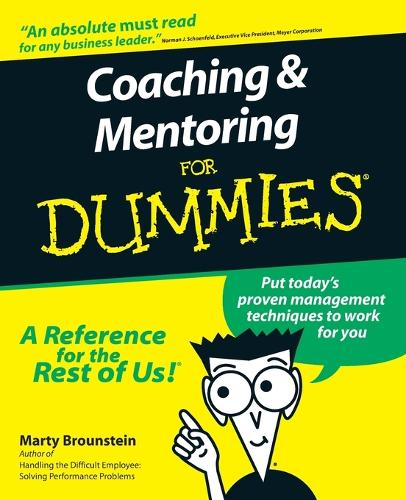 Coaching and Mentoring For Dummies (Paperback)
