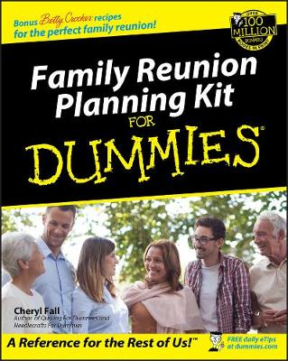 Family Reunion Planning Kit for Dummies (Paperback)