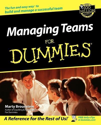 Managing Teams For Dummies (Paperback)