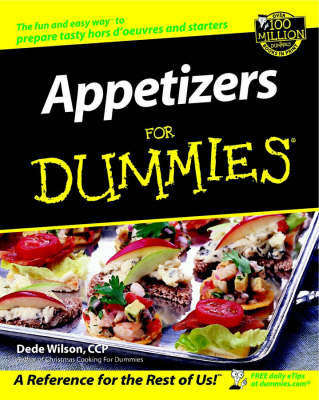 Appetizers For Dummies (Paperback)
