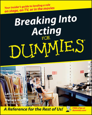 Breaking Into Acting For Dummies (Paperback)