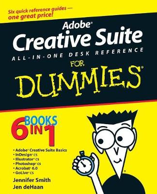 Adobe Creative Suite All-in-One Desk Reference For Dummies (Paperback)