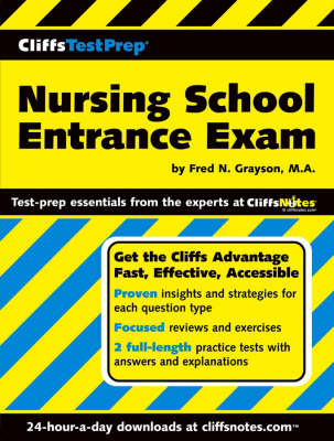 Nursing School Entrance Exam - CliffsTestPrep S. (Paperback)