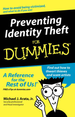 Preventing Identity Theft For Dummies (Paperback)