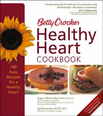 Betty Crocker Heart Healthy Cookbook (Hardback)