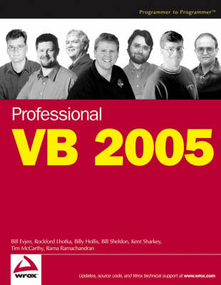 Professional VB 2005 (Paperback)