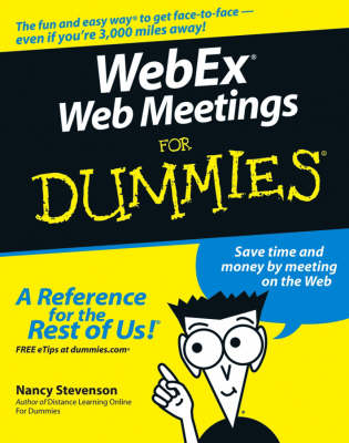 WebEx Web Meetings For Dummies (Paperback)