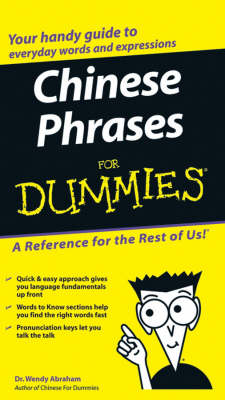 Chinese Phrases For Dummies (Paperback)