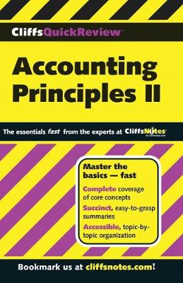 CliffsQuickReview Accounting Principles II (Paperback)