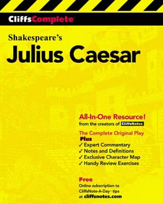 Julius Caesar: Complete Study Edition - Cliffs Notes S. (Paperback)