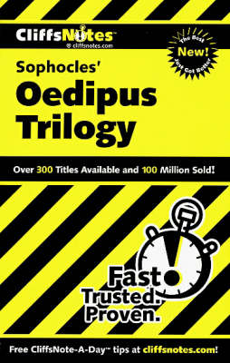 Notes on Sophocles' Oedipus Trilogy - Cliffs Notes S. (Paperback)