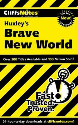 """Brave New World"" - Cliffs Notes S. (Paperback)"