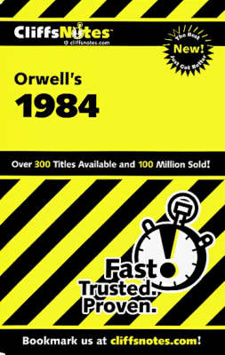 CliffsNotes on Orwell's 1984 (Paperback)