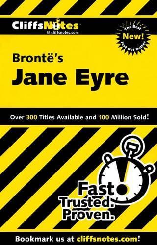 """Jane Eyre"" - Cliffs Notes S. (Paperback)"