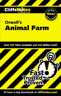 "Notes on Orwell's ""Animal Farm"" - Cliffs Notes S. (Paperback)"